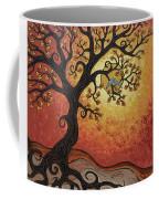 Reaching Across The Sky Coffee Mug