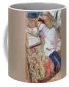 Reader Lying Down Coffee Mug