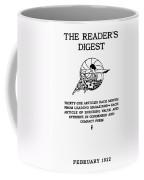 Readers Digest, 1922 Coffee Mug
