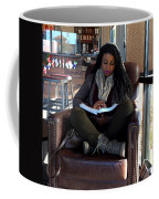 Reading In Starbucks Coffee Mug