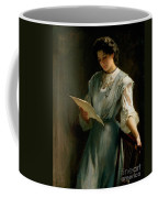 Reading The Letter  Coffee Mug