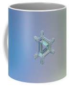 Real Snowflake Photo - Emerald Coffee Mug