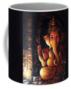 Portrait Of Lord Ganapathy Ganesha Coffee Mug