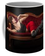 Reclining Hannah Coffee Mug