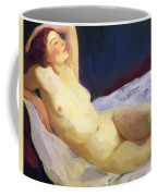 Reclining Nude Barbara Brown 1916 Coffee Mug