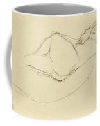 Reclining Nude Facing Right Coffee Mug
