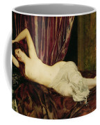 Reclining Nude Coffee Mug by Henri Fantin Latour