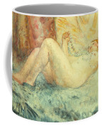 Reclining Nude Coffee Mug by Henri Lebasque