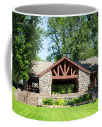 Recreation Shelter In Forest Park Coffee Mug