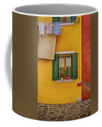 Rectangle Iterations Broom And Laundry Burano_dsc5134_03042017 Coffee Mug
