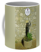 Rectory Mansion And Hand Pump - Brading Coffee Mug