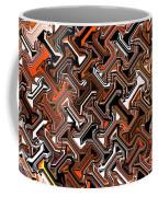 Recurring Pattern Abstract Coffee Mug
