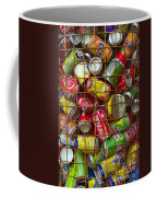 Recycling Cans Coffee Mug by Carlos Caetano