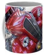 Red 1938 Plymouth Coffee Mug