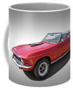 Red 1970 Mach 1 Mustang 351 Cleveland Coffee Mug