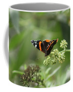 Red Admiral Coffee Mug