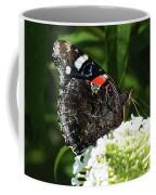 Red Admiral - Underside Coffee Mug