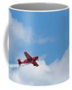 Red Aerobatic Airplane 21 Coffee Mug