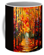 Red Alley Coffee Mug