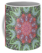 Red Amaryllis Trio Kaleidoscope Coffee Mug