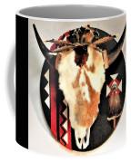 Red And Black Buffalo Design Coffee Mug
