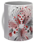 Red And Black -f E- Coffee Mug