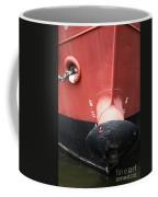 Red And Black Prow Coffee Mug