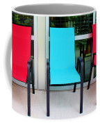 Red And Blue Chairs Coffee Mug