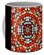Red And Blue Stones Coffee Mug