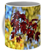 Red And Gold Coffee Mug