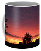 Red And Orange June Dawn Sky Coffee Mug