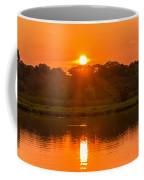 Red And Orange Jungle Sunset Coffee Mug