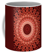 Red And Orange Mandala Coffee Mug