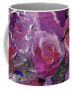 Red And Violet Roses Coffee Mug