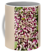Red And White Radishes Coffee Mug by John Trax