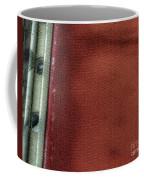 Red And White Stripe Coffee Mug