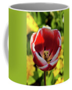 Red And White Tulip Coffee Mug