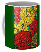 Red And Yellow Garden Coffee Mug
