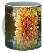 Red And Yellow Reflection Coffee Mug