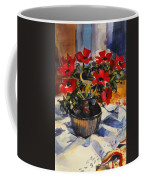 Red Anemones Coffee Mug