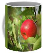 Red Apple On A Tree Coffee Mug