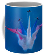 Red Arrows At Airbourne 2010 Coffee Mug