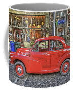 Red Morris Minor Coffee Mug