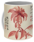 Red Autumnal Leaves Coffee Mug