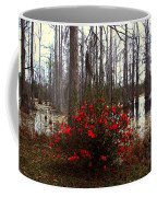 Red Azaleas In The Swamp Coffee Mug