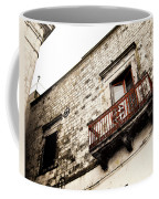 Red Balcony Coffee Mug