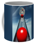 Red Balls From Space Coffee Mug