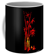 Red Bamboo Coffee Mug