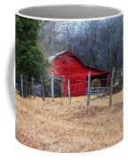 Red Barn A Long The Way Coffee Mug