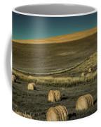Red Barn At Haying Time Coffee Mug